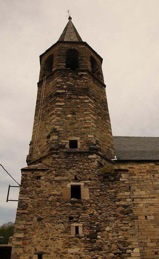 Campanar de l'església de Sant Fèlix de Bagergue