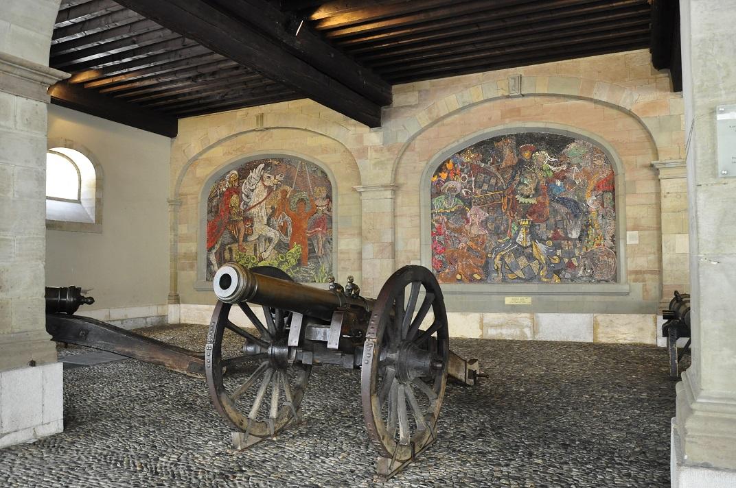 Canons de l'antic Arsenal de Ginebra