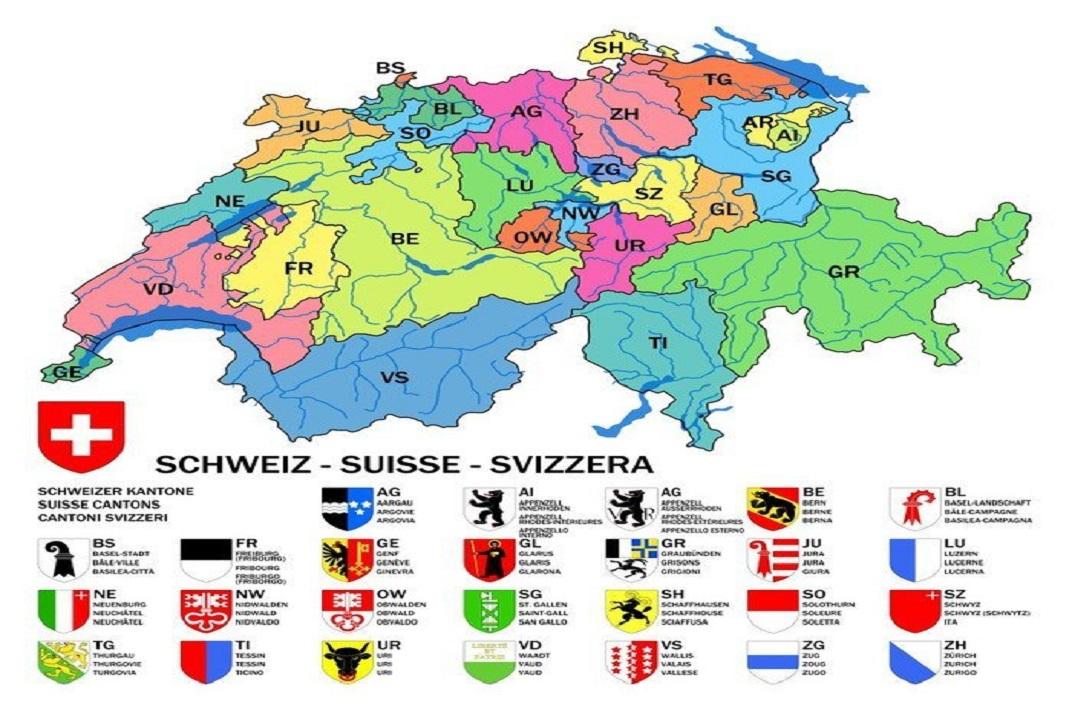 Cantons de Suïssa