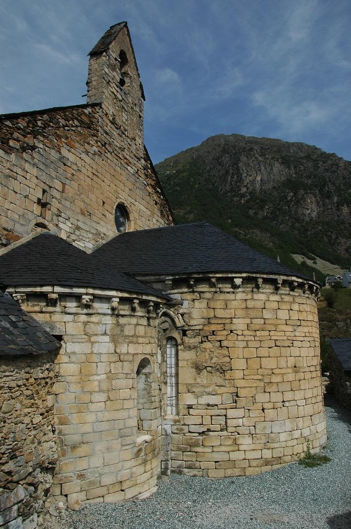 Capçalera de l'església de Salardú