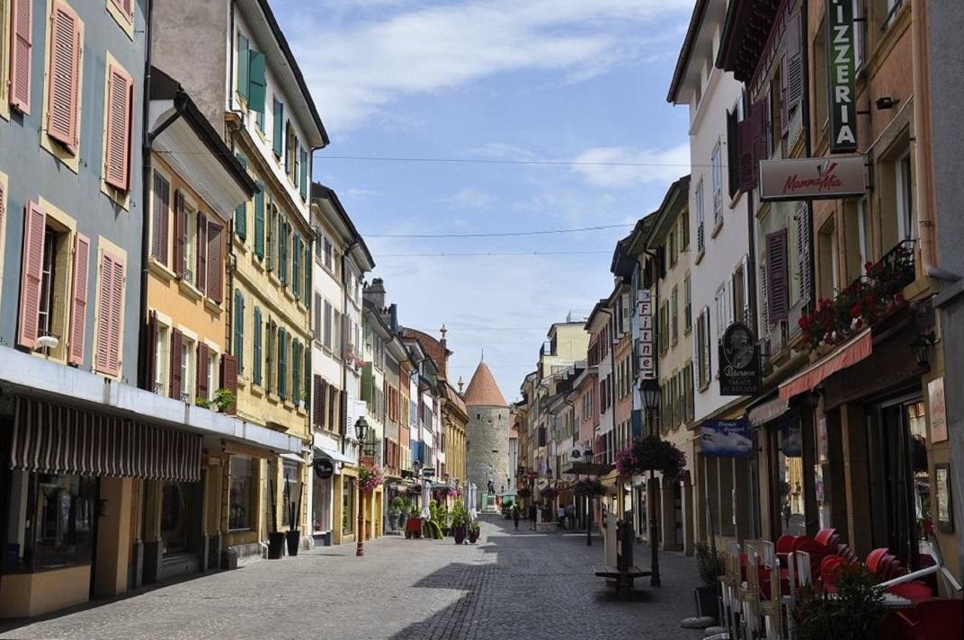 Carrer comercial de Yverdon-les-Bains