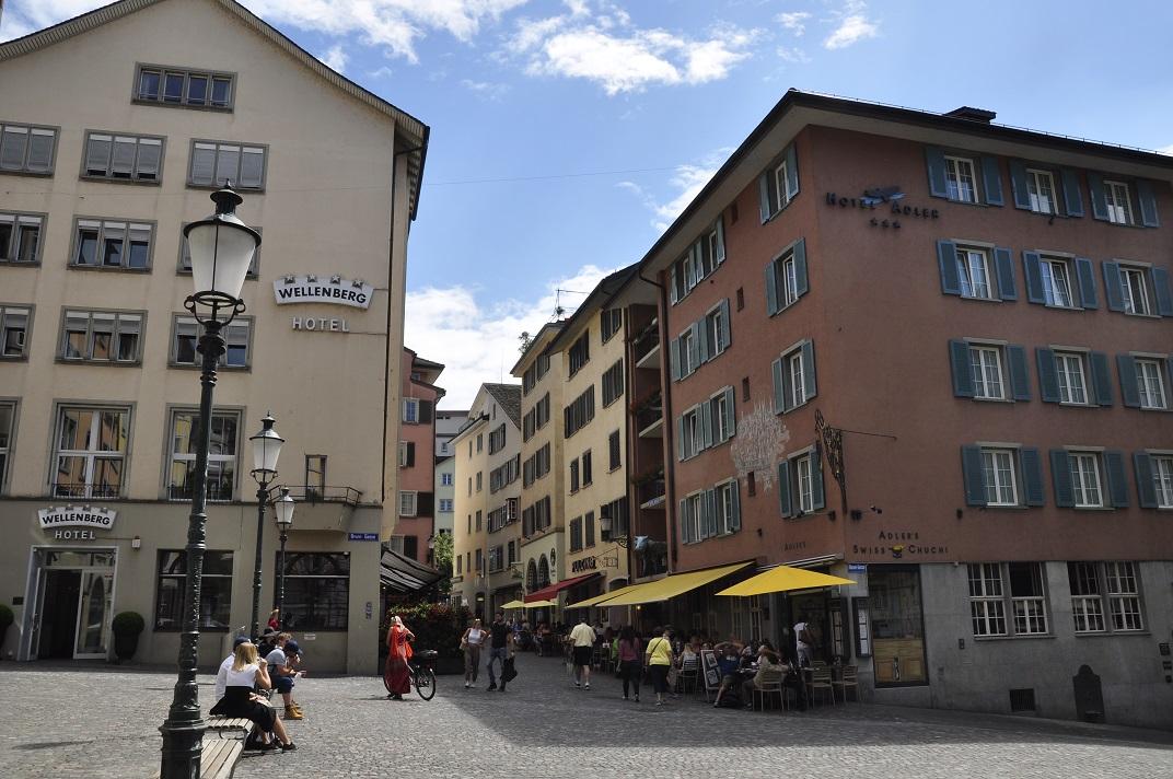 Carrer Niederdorfstrasse de Zuric