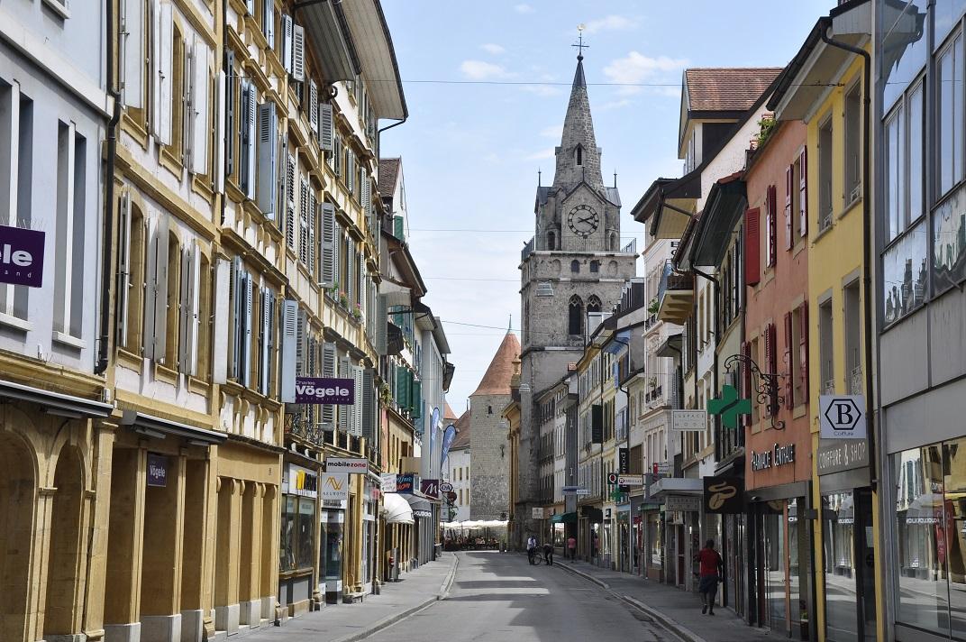Carrer principal de Yverdon-les-Bains