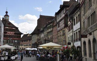 Carrer principal del nucli antic de Stein-am-Rhein