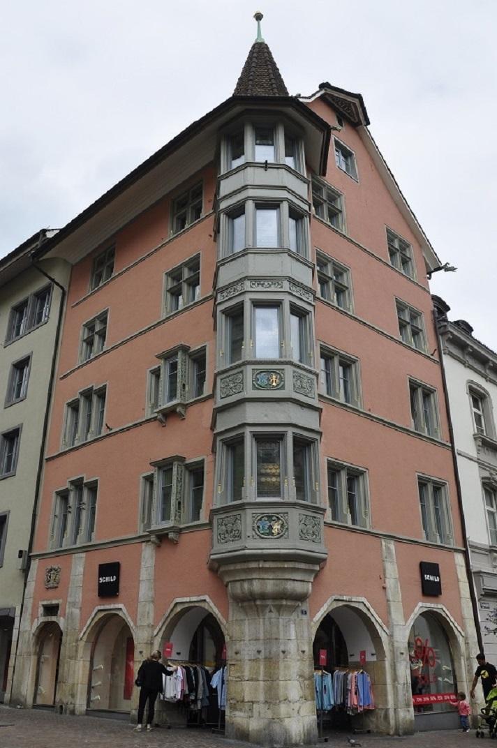 Casa amb miradors Schaffhausen