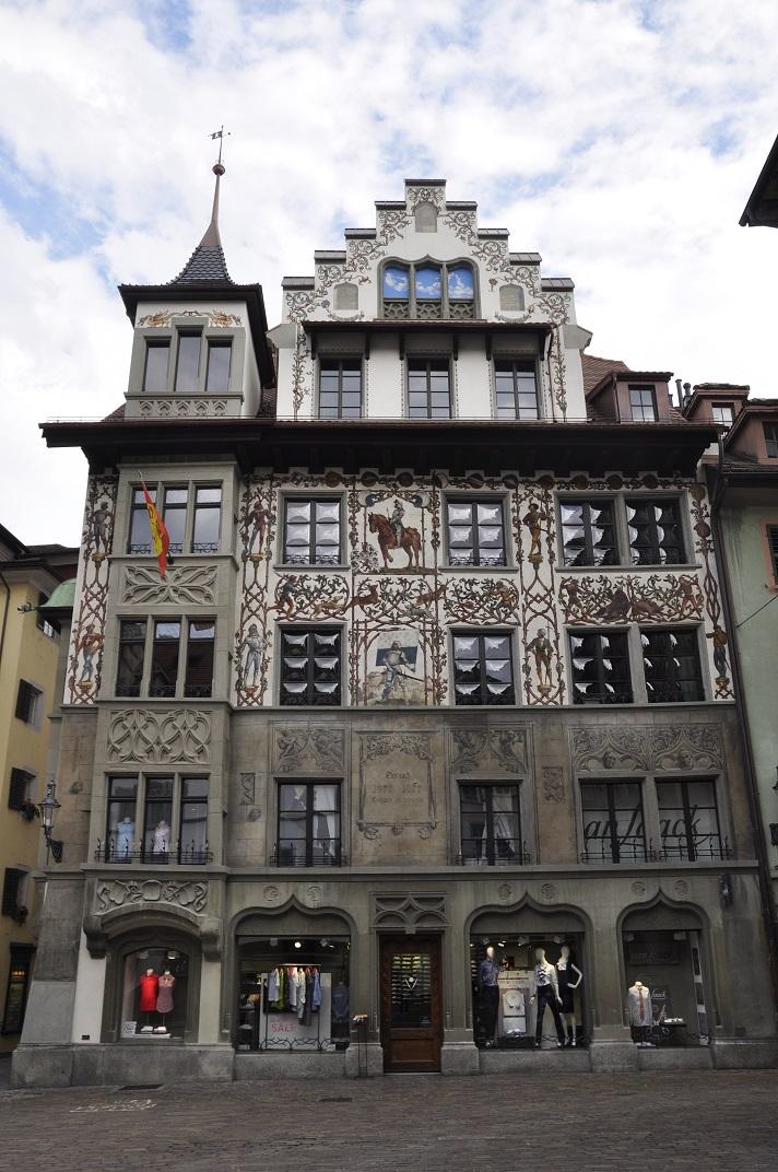 Casa de la batalla de Dornach de Lucerna