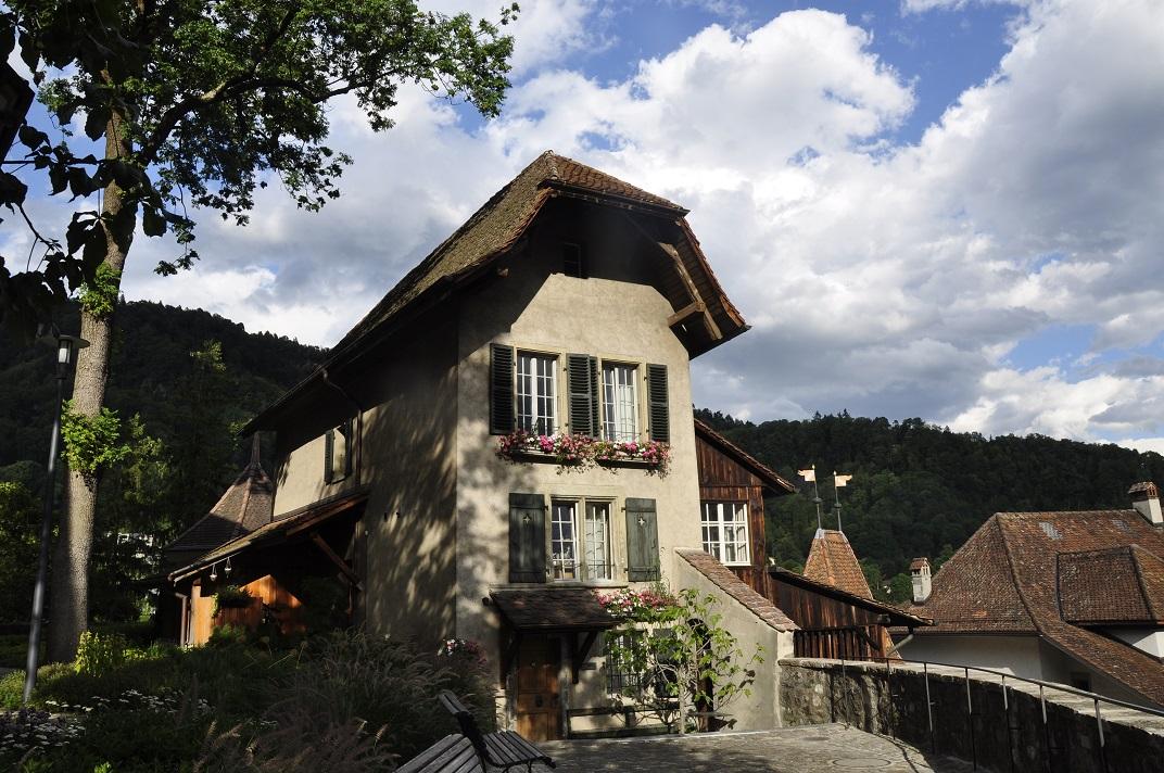 Casa del sagristà de Thun