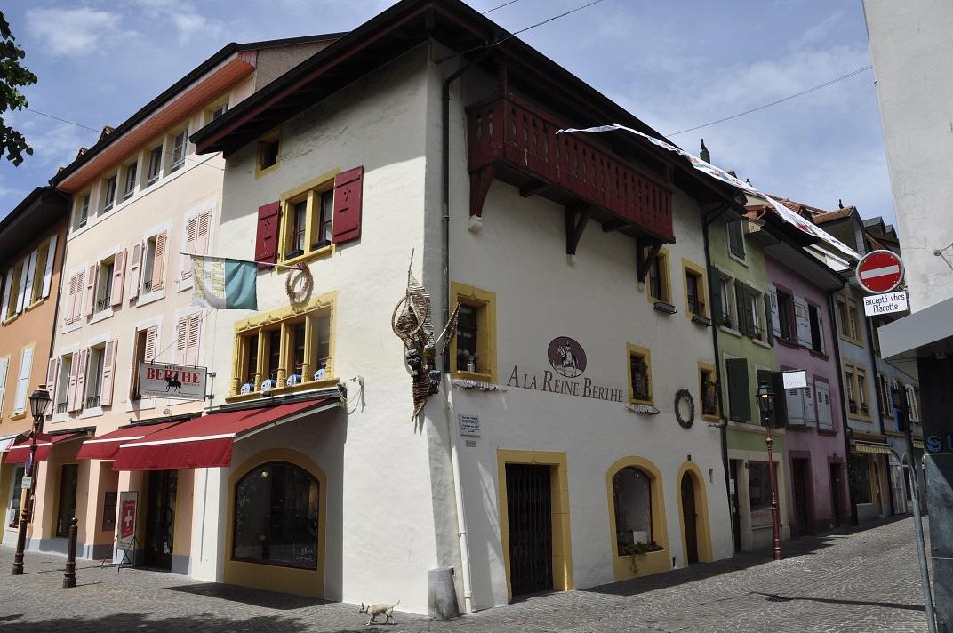 Cases antigues de Yverdon-les-Bains