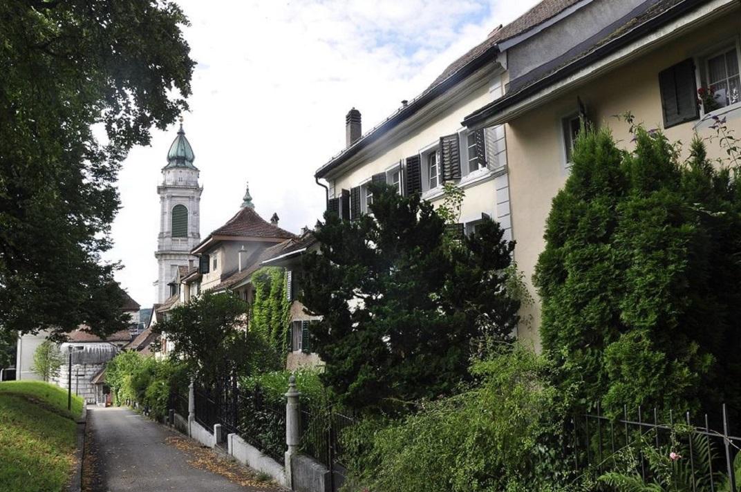 Cases de la muralla de Solothurn