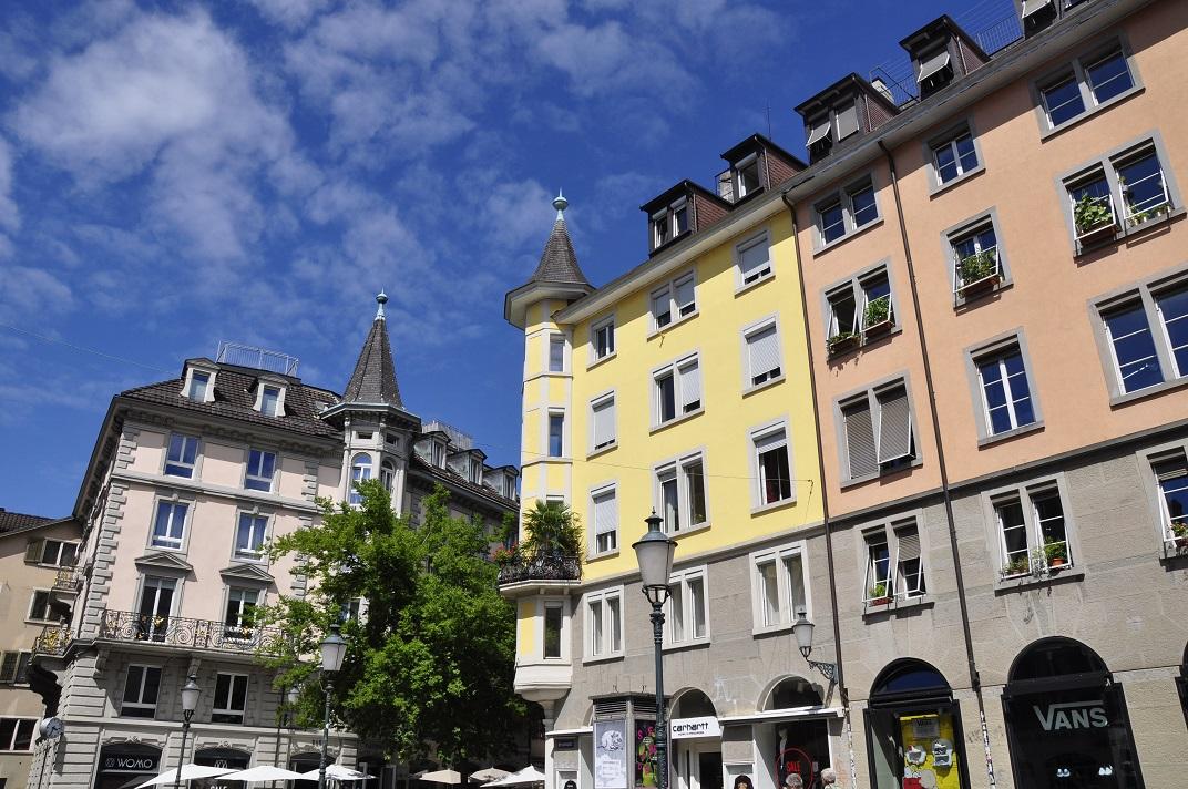 Cases del barri de Niederdorf de Zuric
