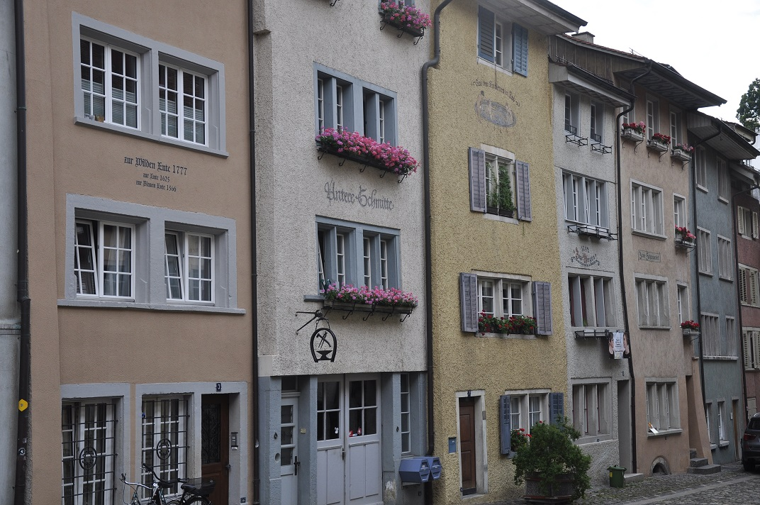Cases del nucli antic de Baden