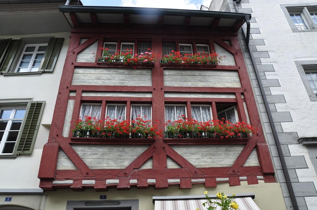 Cases d'entramat de fusta de Stein-am-Rhein