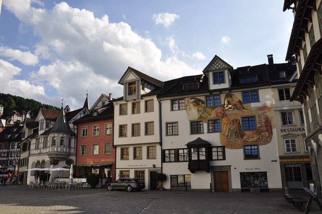Cases històriques de la plaça de Sant Gal de Sankt Gallen