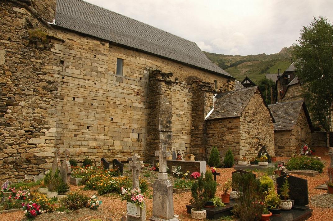 Cementiri de l'església de Sant Fèlix de Bagergue