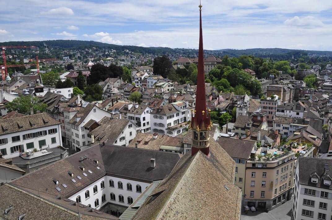 Claustre de la Grossmünster de Zuric