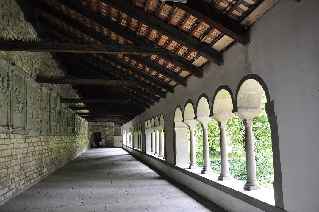 Claustre del monestir de l'abadia de Schaffhausen