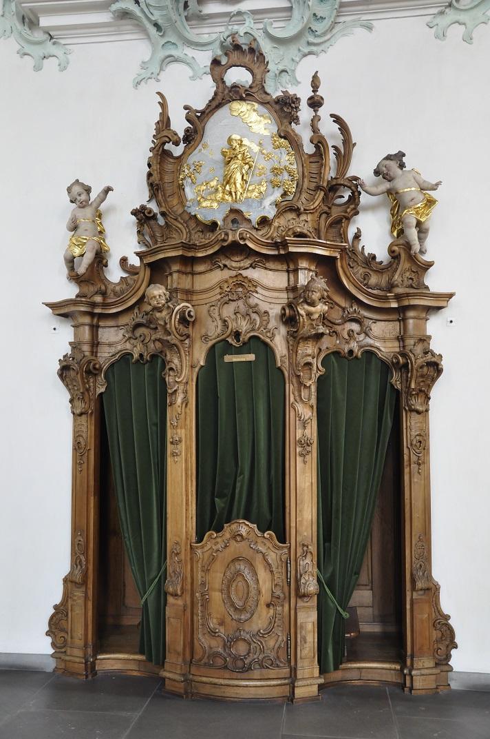Confessionari de la Catedral de Sankt Gallen