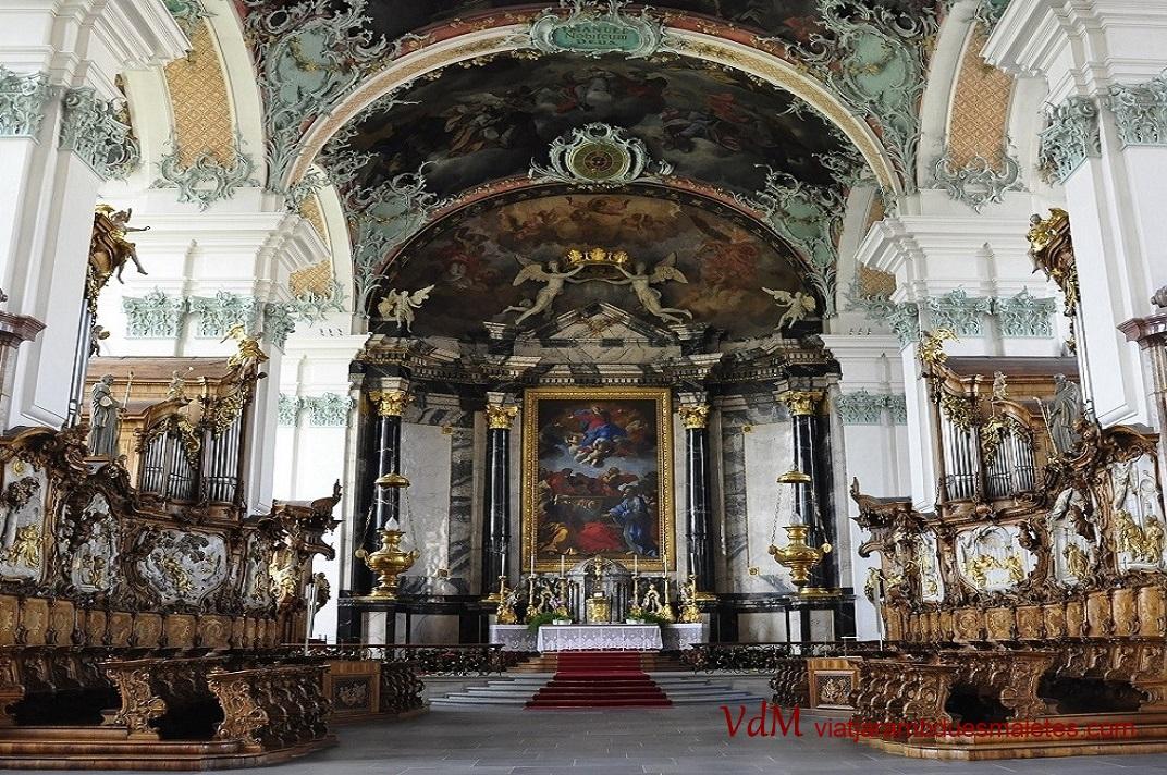 Cor de la Catedral de Sankt Gallen