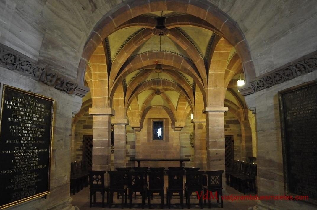 Cripta de catedral de Basilea