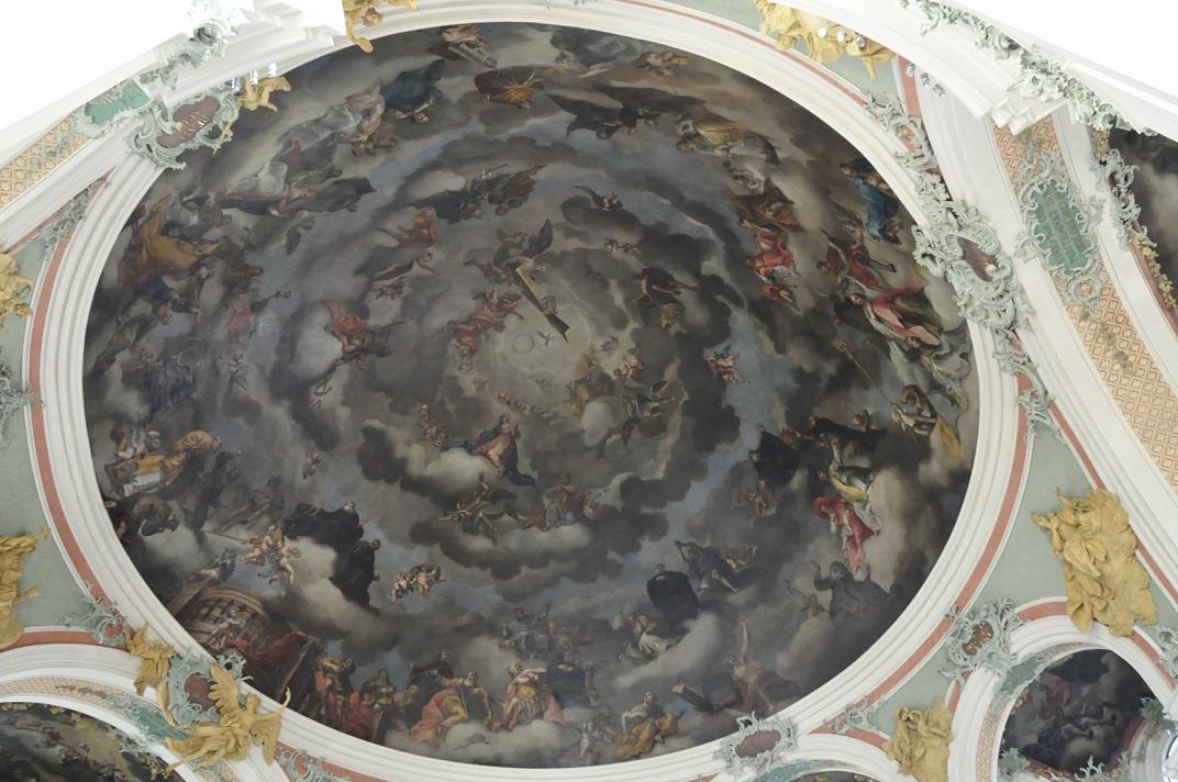 Cúpula de la Catedral de Sankt Gallen