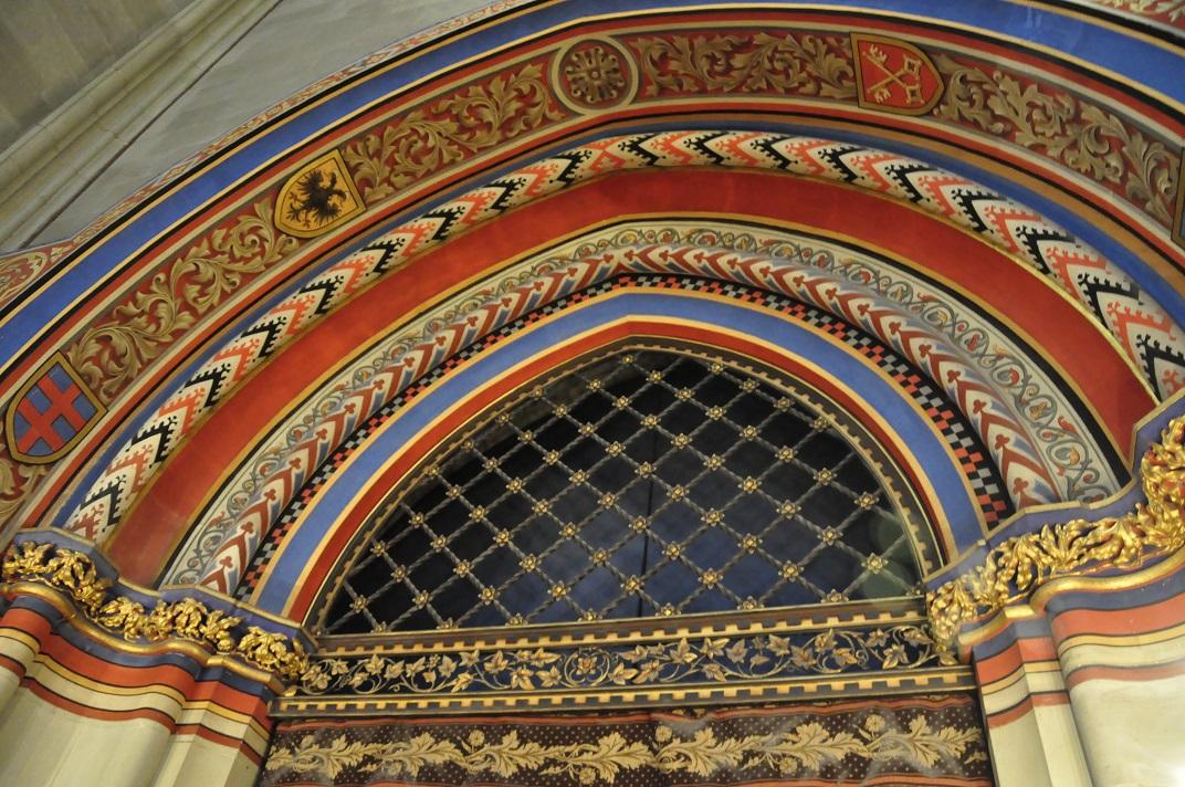 Detall de la capella dels Macabeus de la Catedral de Ginebra