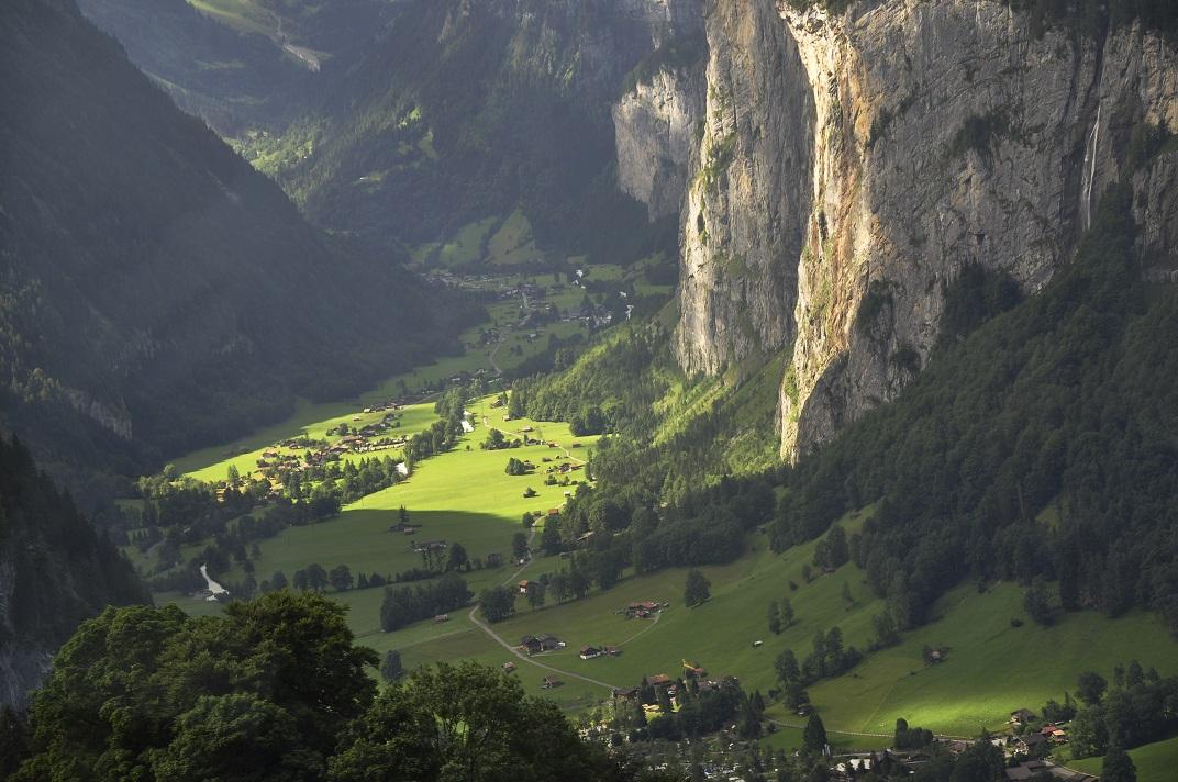 El tren de Jungfrau - Jungfraujoch