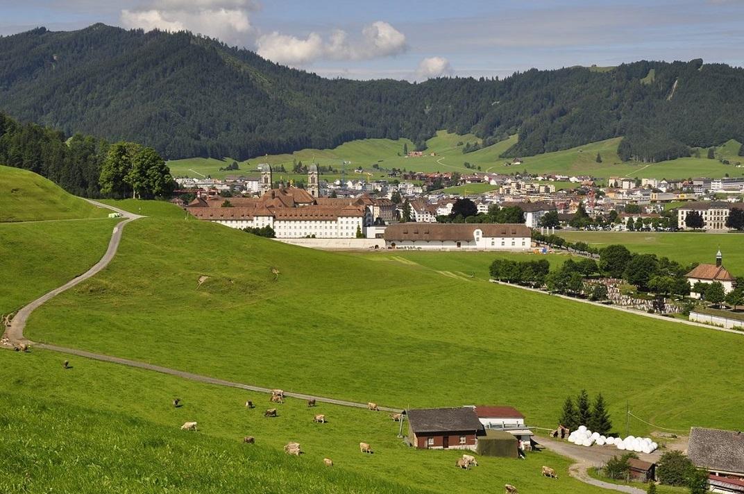 Entorn de l'abadia d'Einsiedeln