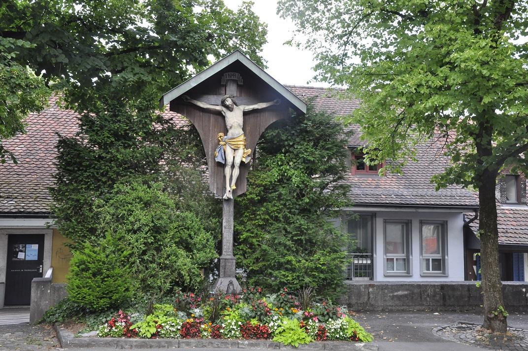 Entorn de l'església de l'Assumpció de Baden