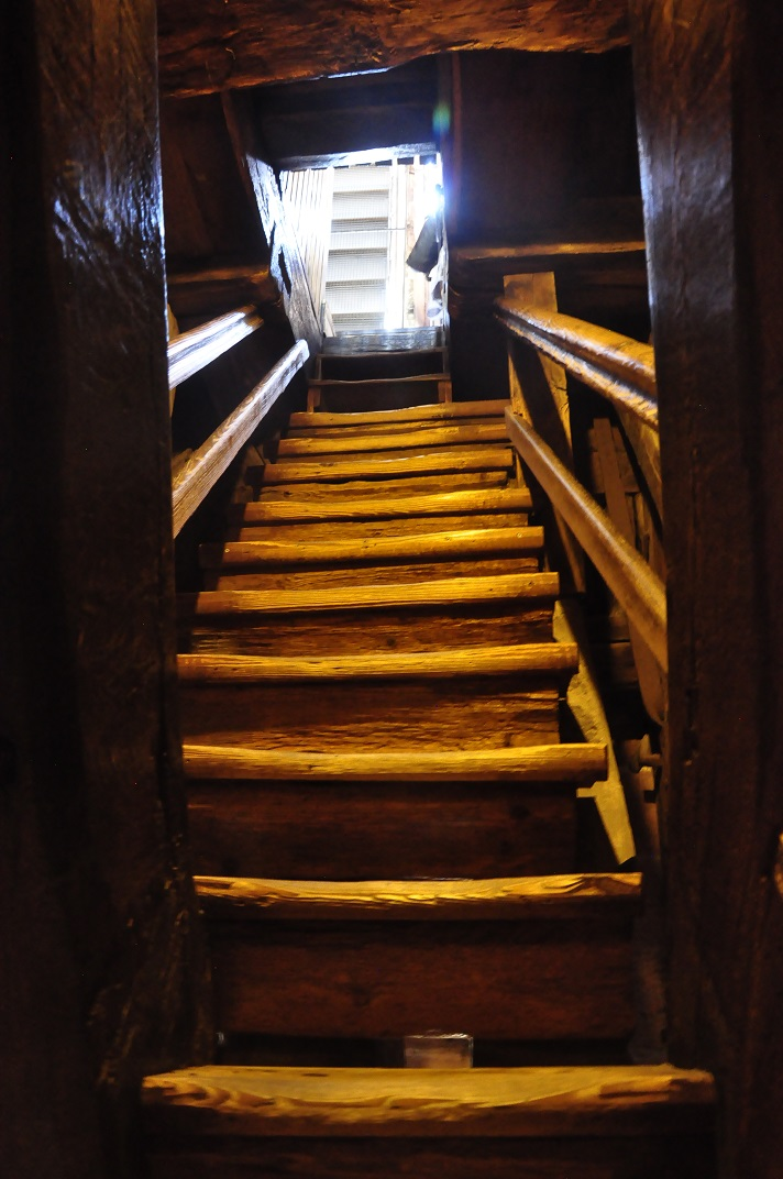 Escala de la torre de la Catedral de Basilea