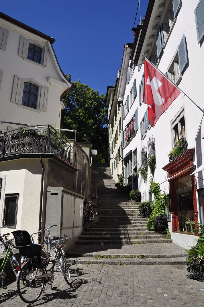 Escales de la Linderhof de Zuric