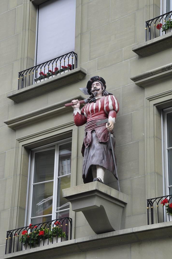Escultura de la casa del gremi dels fusters de Berna