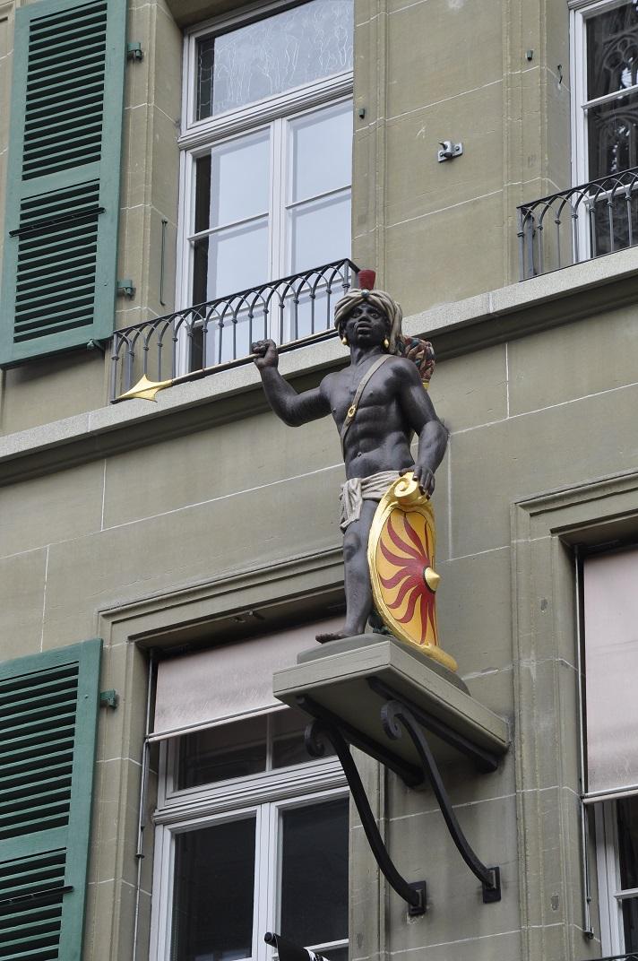Escultura de la casa del gremi dels sastres de Berna