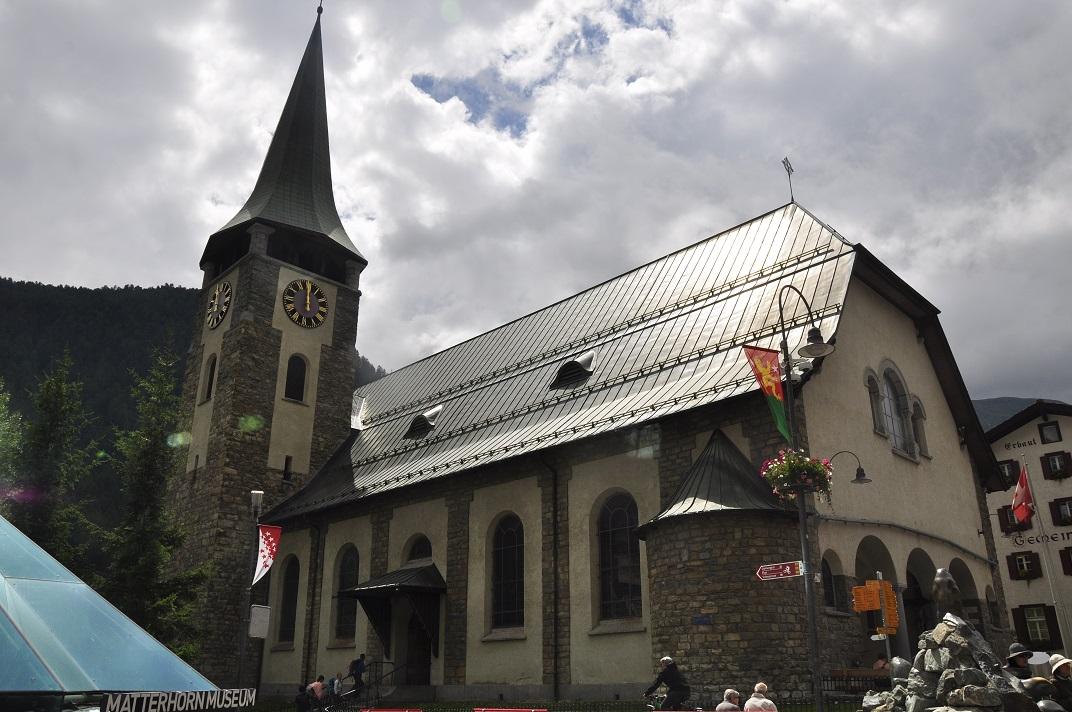 Església anglicana de Zermatt