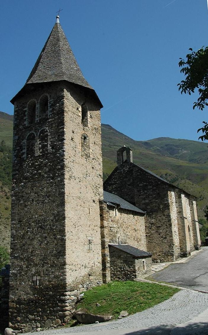 Església de Sant Pere d'Escunhau