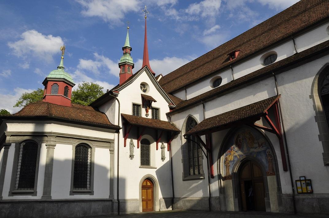 Església franciscana de Lucerna