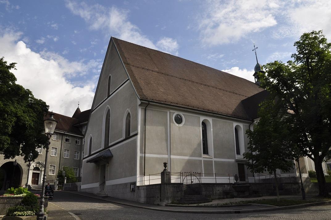 Església Franciscana de Solothurn