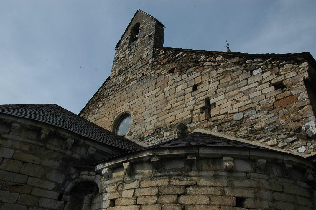 Espadanya de la capçalera de l'església de Salardú