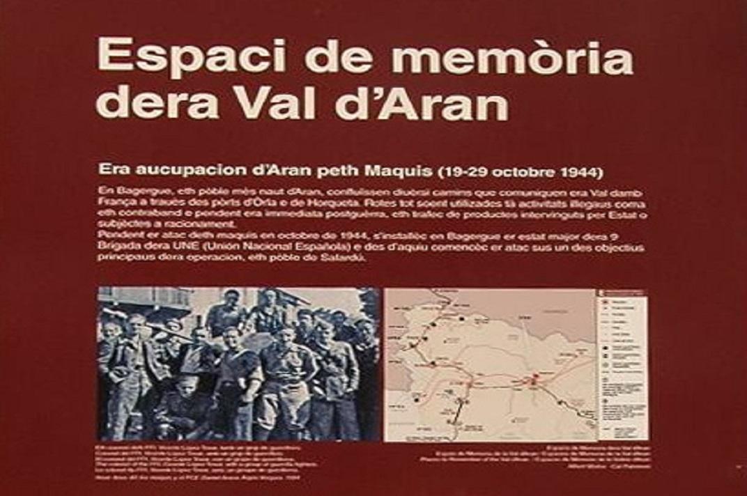 Espais de memòria de la Val d'Aran de Bagergue