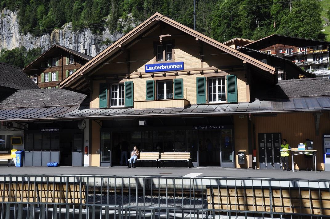 Estació de Lauterbrunnen del tren de Jungfrau - Jungfraujoch