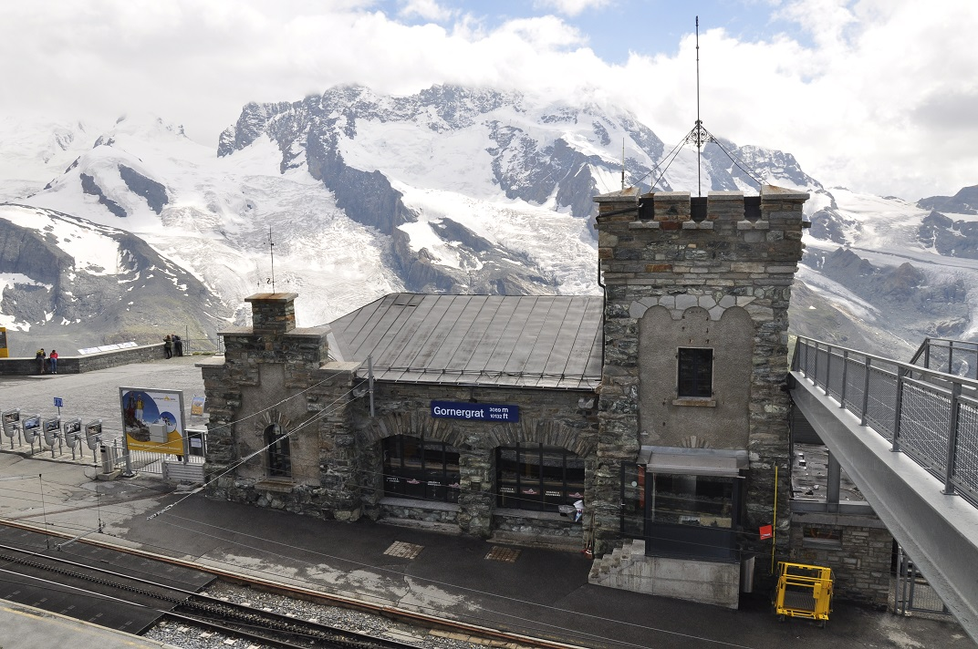 Estació del tren cremallera del Gornergrat