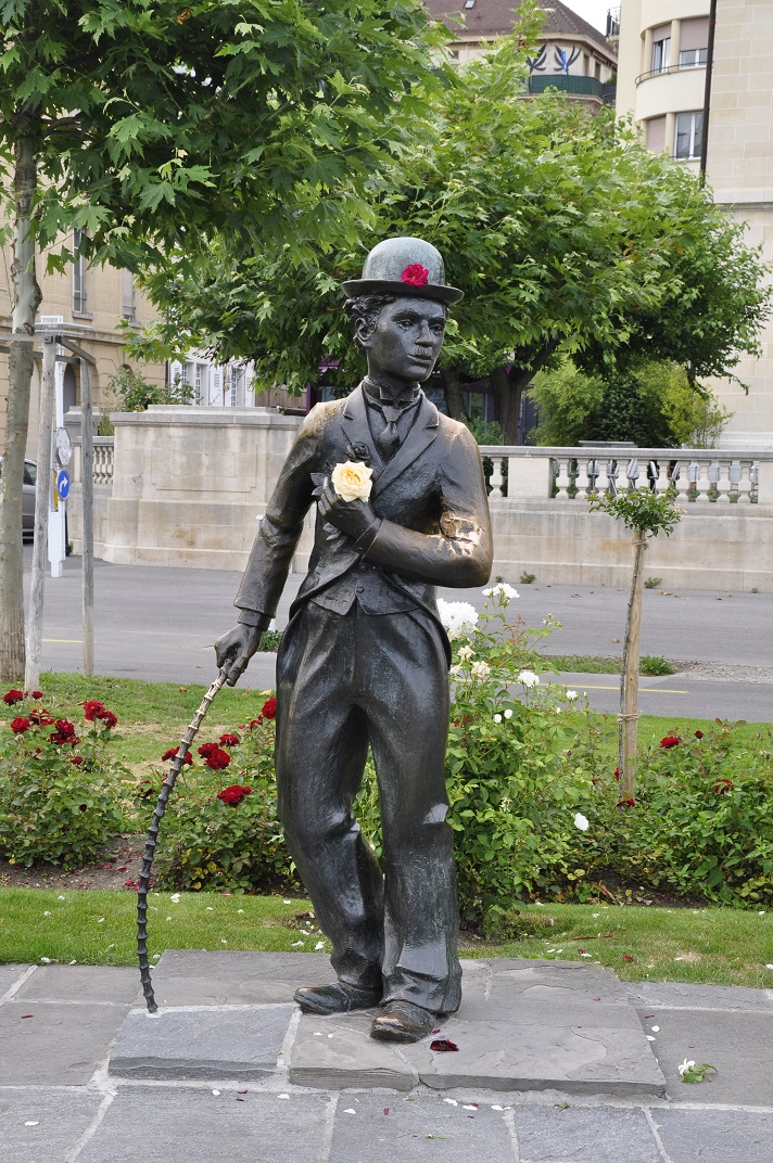 Estàtua Charlie Chaplin de Vevey
