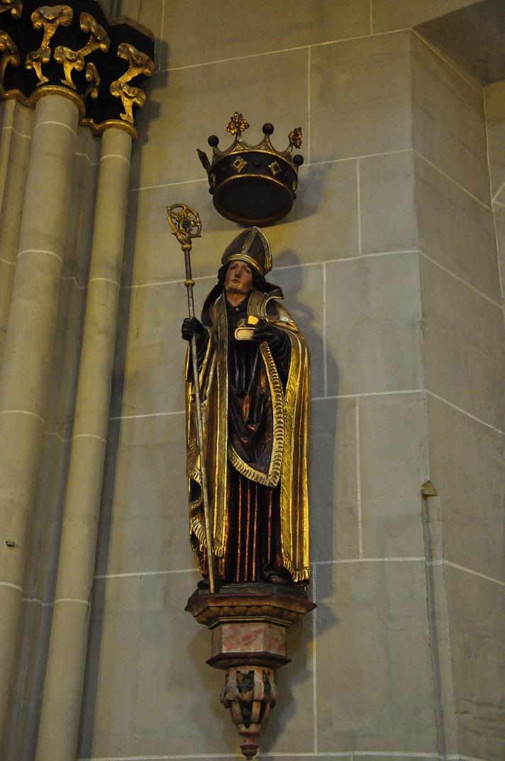 Estàtua de Sant Nicolau de Bari de Friburg