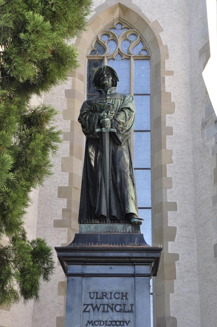 Estàtua d'Ulrich Zwingli de Zuric
