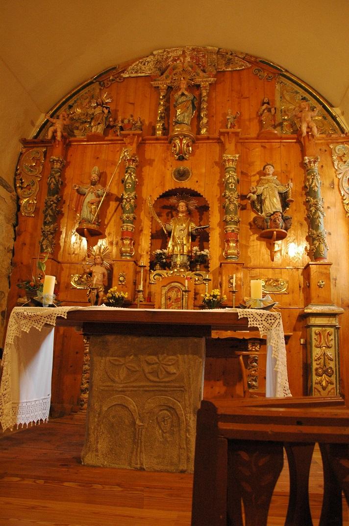 Estela funerària de l'església de Sant Fèlix de Bagergue