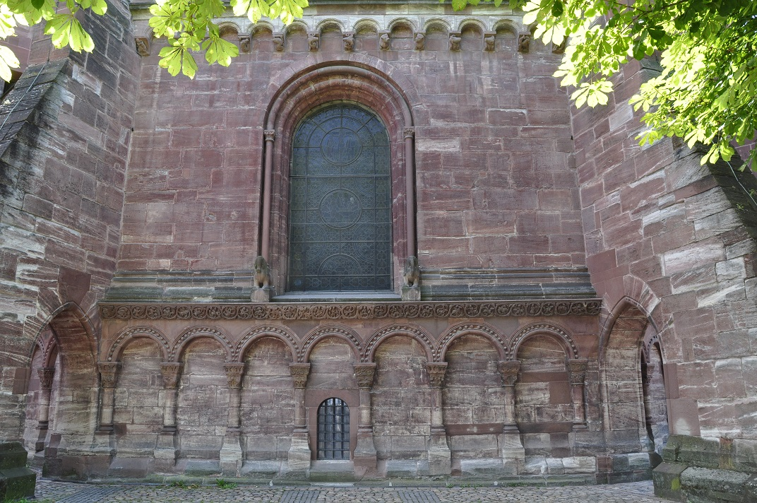Exterior del cor de la Catedral de Basilea