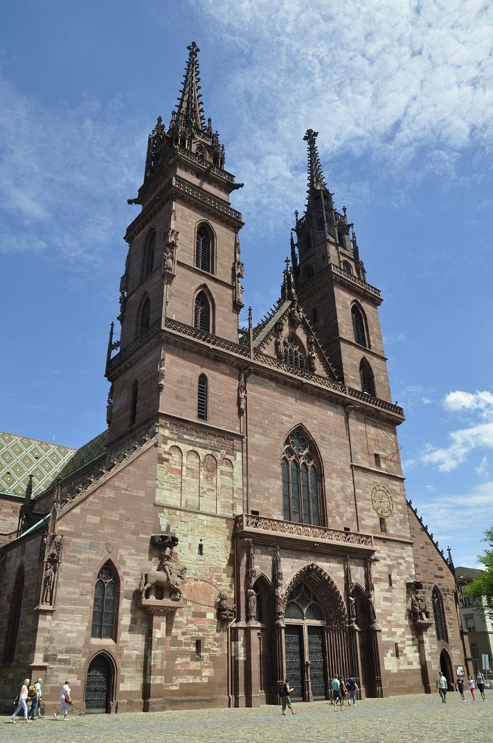 Façana de la Catedral de Basilea