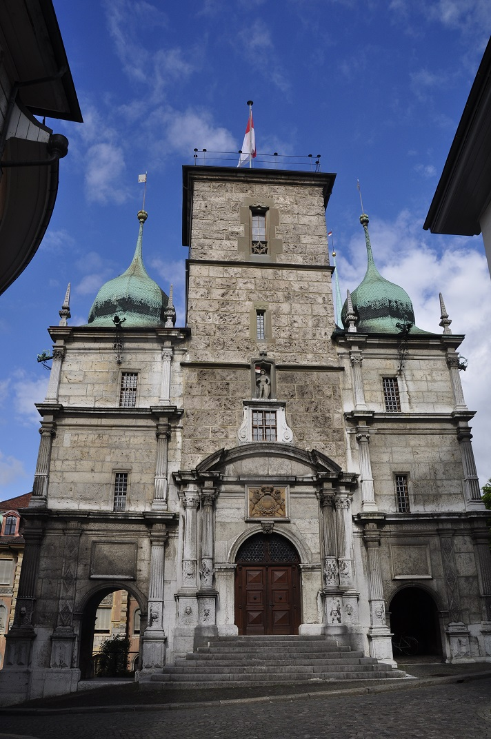 Façana de l'Ajuntament de Solothurn