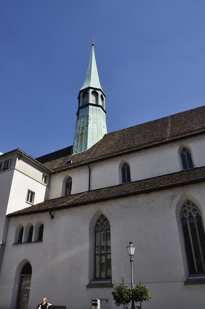 Façana de l'església dels Agustins de Zuric