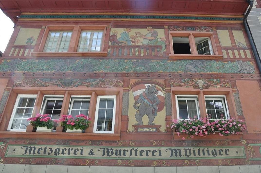 Façanes de Stein-am-Rhein