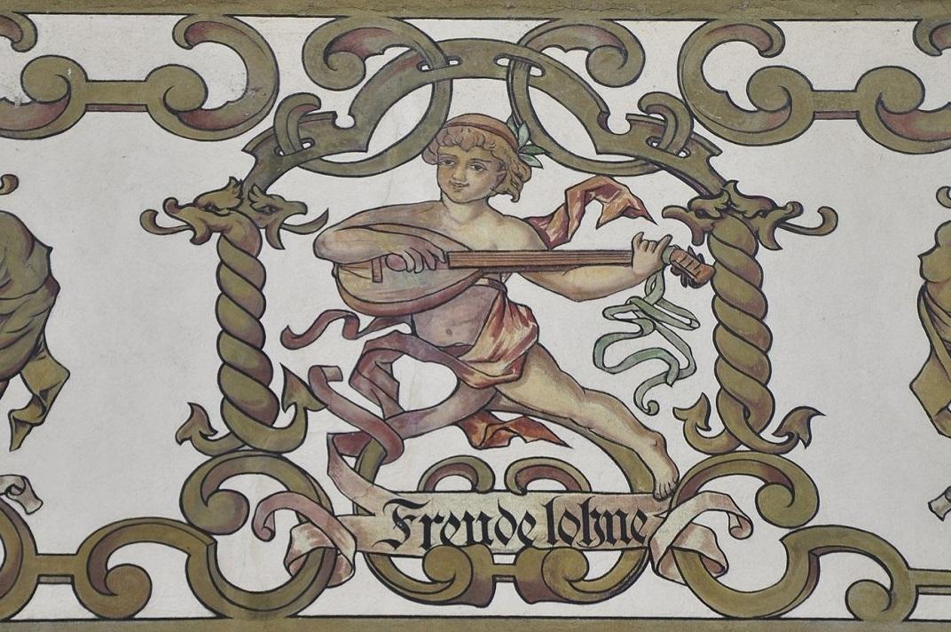 Figura simbòlica de la plaça de l'Estrella de Lucerna